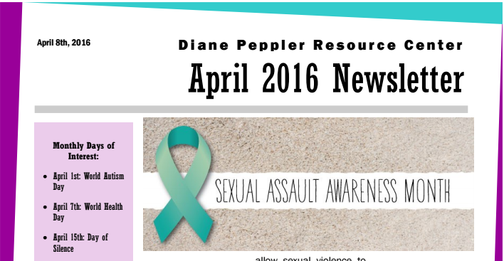 April 2016 Newsletter