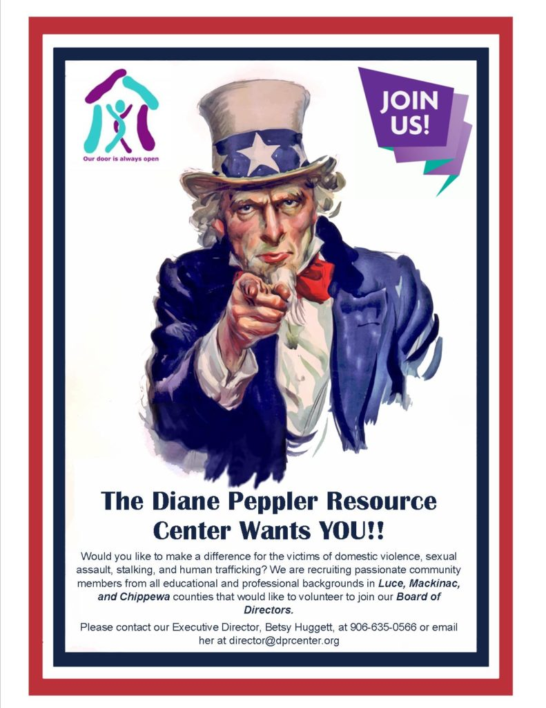 DPRC is currently looking for volunteer board members