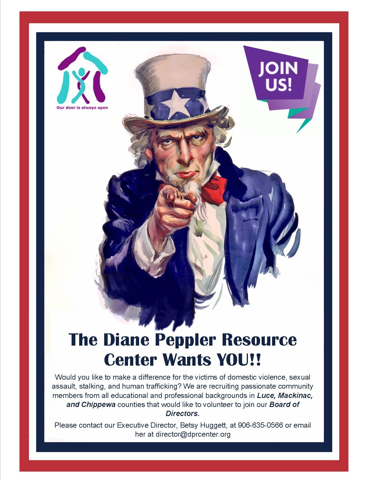DPRC is currently looking for volunteer board members
