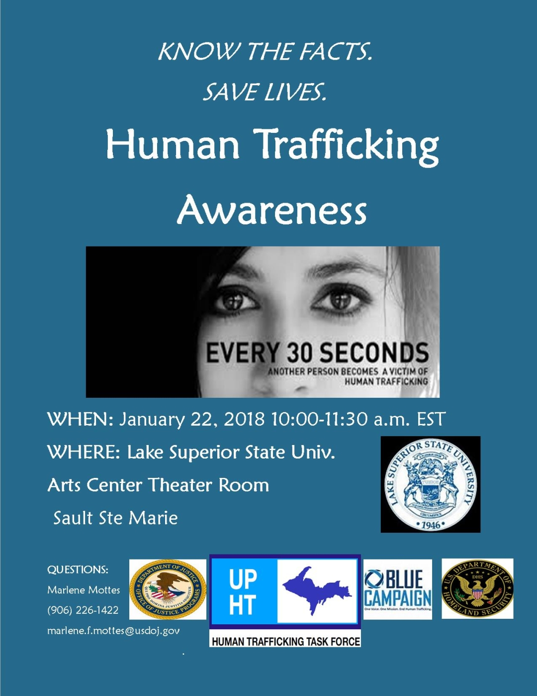 Human Trafficking Awareness month | Diane Peppler Resource