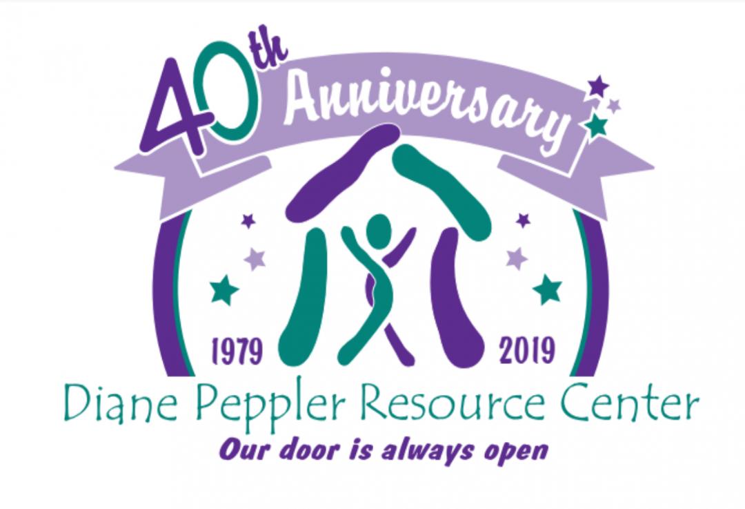 Diane Peppler Resource Center 40th Anniversary.  1979 to 2019